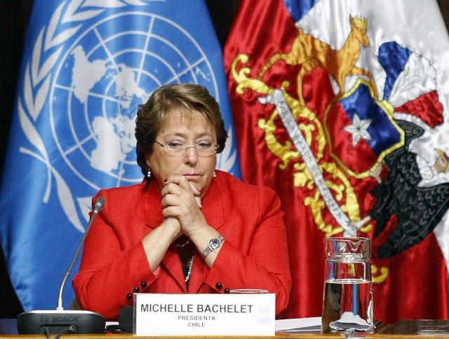 Michelle Bachelet asiste a la  53* reunión de la mesa directiva de la Conferencia Regional sobre la Mujer de América latina y El Carbe.